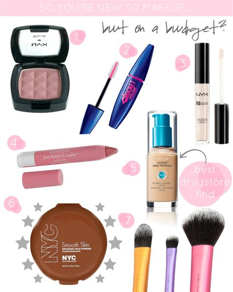 Beginner Make Up Set makeup set basics saubhaya makeup