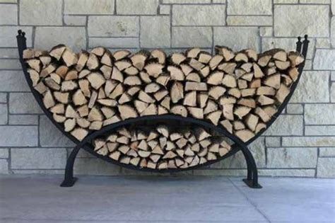 Small Firewood Rack by The Woodhaven Small Crescent Firewood Rack Best Sellers
