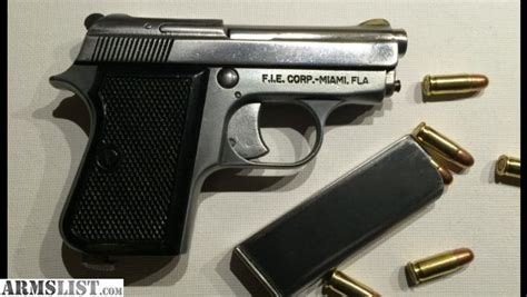 25er Auto by Armslist For Sale Fie Titan 25 Auto With 50 Rounds Of