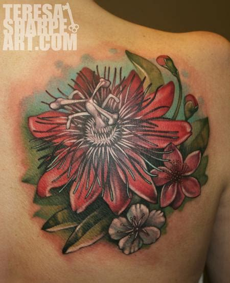 passion flower tattoo gallery flower designs