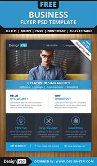 business flyer design templates free business flyer psd template designyep