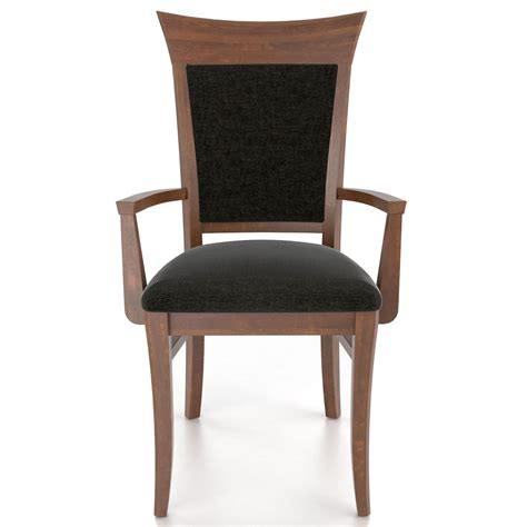 upholstered armchair dining canadel custom dining customizable upholstered armchair