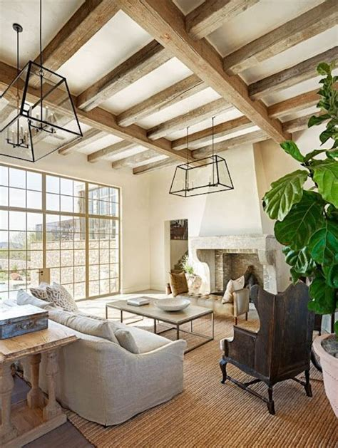 ideas cozy living room exposed beam ceiling ideas for 36 cozy living room designs with exposed wooden beams