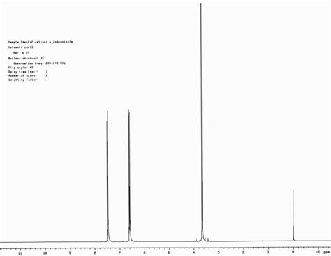 Proton Nmr Database by Nmr Database Elec Intro Website