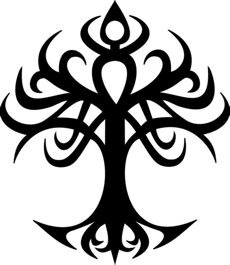 tree of life tribal tattoo tree of tribal by odari on deviantart