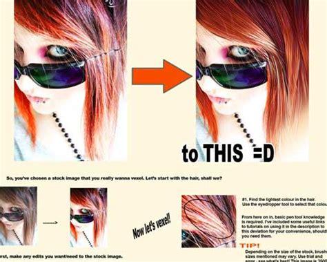 vector vexel hair tutorial collection of vexel art tutorials ninja crunch