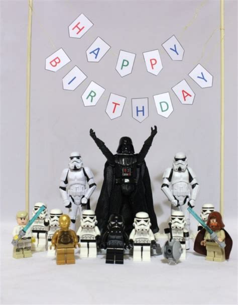 imagenes happy birthday star wars star wars happy birthday want to do something similar
