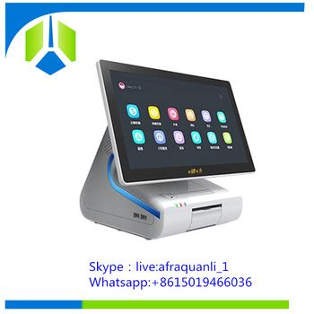 new arrival windows based pos system with embedded 80mm