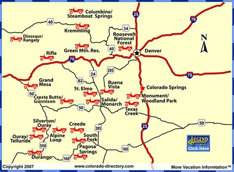 colorado jeep trail maps colorado colorado jeep 4wd map road rentals tours