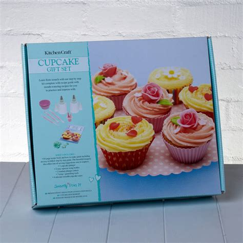 baking recipes for gifts cup cake baking gift set with recipe book by whisk hers