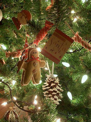 tree decorations primitive primitive ideas pinterest