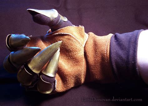 Origami Claw Glove - claw glove part 2 by lorddonovan on deviantart
