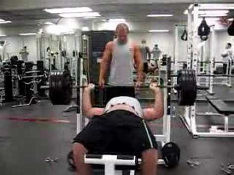 belly bench press 405 bench press sorry about the belly youtube