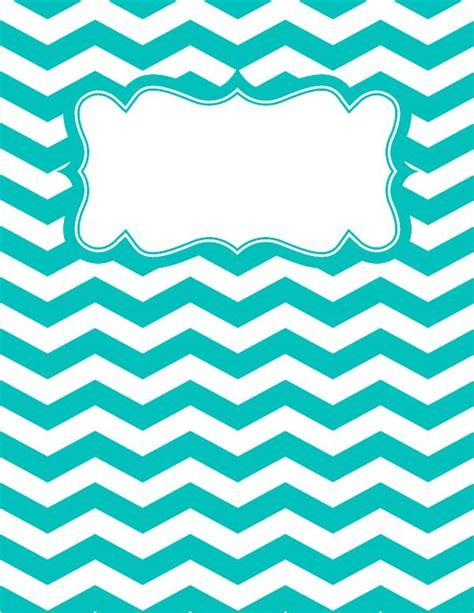 printable binder cover sheets best 20 chevron binder covers ideas on pinterest