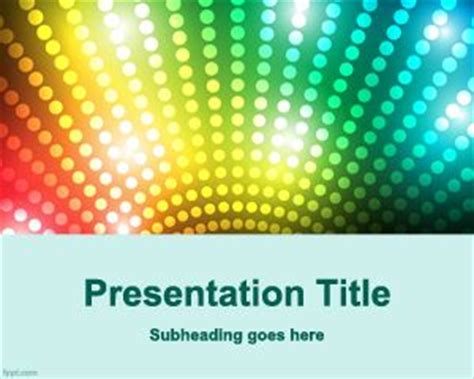 Free Talk Show Powerpoint Template Show Powerpoint Template