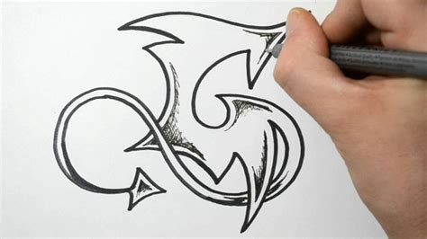 G Drawing Design by How To Draw Graffiti Letter G