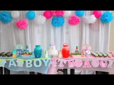 baby gender reveal party, cute, fun, idea, nhut + uyen