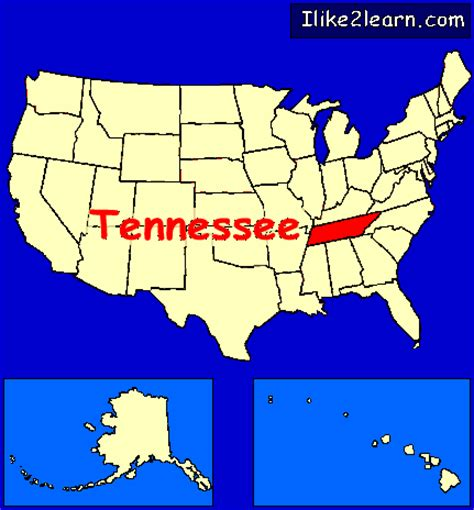 us map states tennessee tennessee