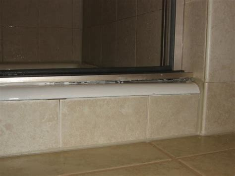 Shower Door Bottom Track Kohler Purist Pivot Shower Door Bottom Track Problem Doityourself Community Forums
