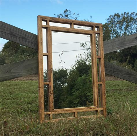 decorative wall mirror rustic home decor custom mirrors