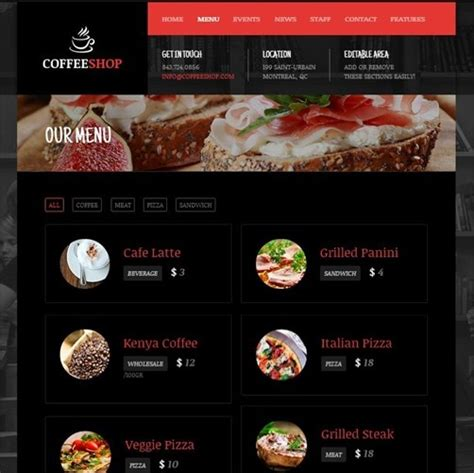 30 wordpress restaurant menu templates want to get famous 30 wordpress restaurant menu templates want to get famous