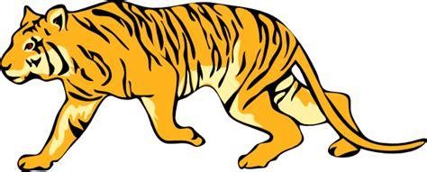 gambar harimau format png stalking tiger clip art at clker com vector clip art