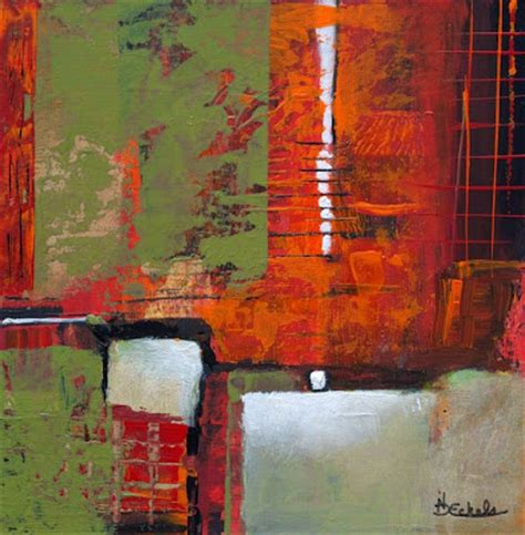Daylight Ls For Artists by No Day Without By Nancy Eckels Abstract Painting By