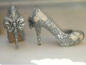 glitter shoes with heels harley quinn white silver sparkly glitter heels shoes