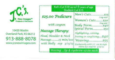 haircut coupons in kansas city j c s new images haircut wax coupon overland park ks