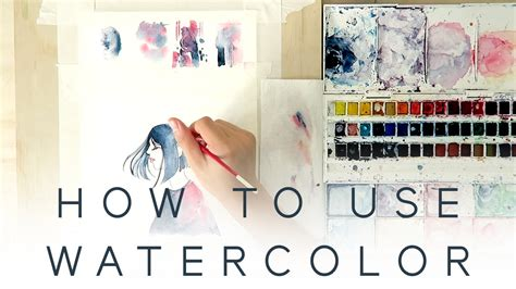 tutorial for watercolor how to use watercolor introduction tutorial youtube