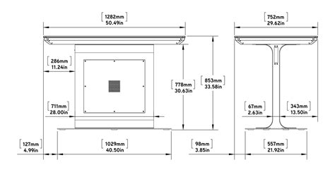 Drafting Table Sizes Platform Multitouch Table Integrated Interactive Touch Ideum
