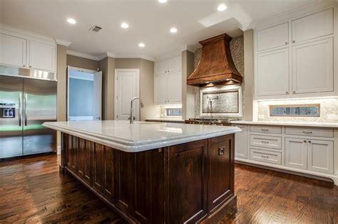kitchen  copper hood transitional kitchen