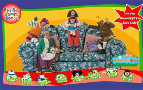 pbs big comfy couch big comphy couch pbs images frompo 1