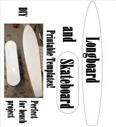 Longboard And Skateboard Printable Templates Work Working Projects Pinterest Skateboard Longboard Template Maker