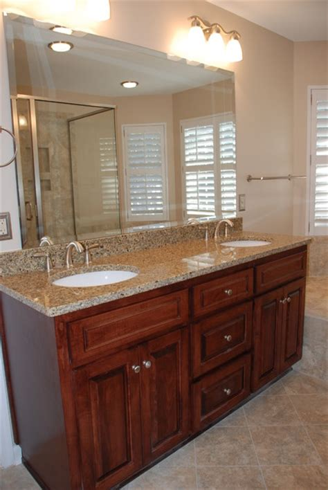 Bathroom Vanity Renovation Ideas by Master Bathroom Vanity Remodel Traditional Bathroom