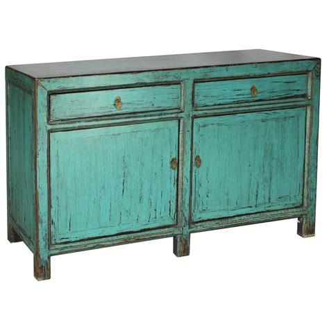 Turquoise Sideboard turquoise sideboard for sale at 1stdibs