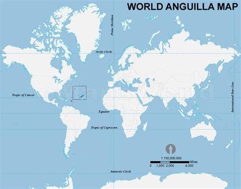 anguilla world map world anguilla map anguilla location in world