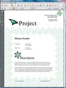 sample business proposal software educational grant