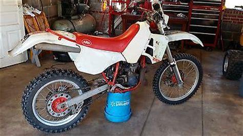 1989 Ktm 250 Exc 1989 Ktm Motorcycles For Sale