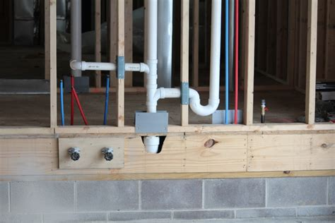 plumbing a new house plumbing rough in for your new home builder tips for
