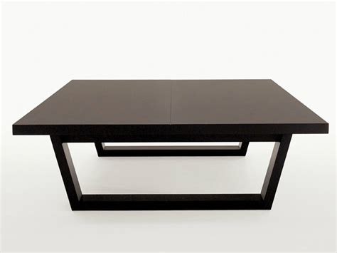 Square Solid Wood Coffee Table Xilos Collection By Maxalto B B Italia Coffee Table