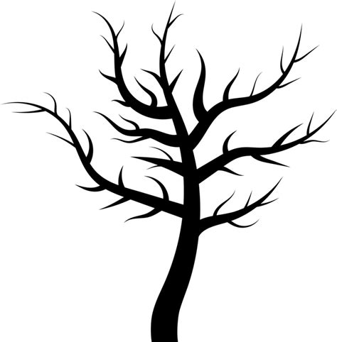 tree tattoo png free vector graphic tree plant dead barren leafless