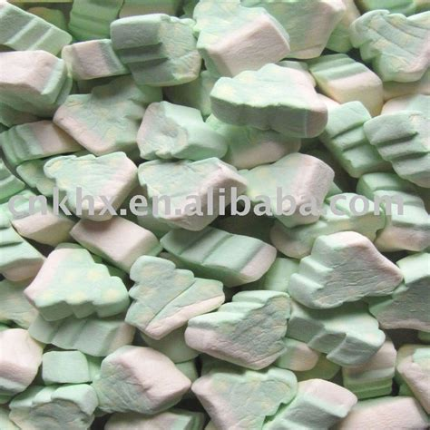 zs020 christmas tree marshmallow candy 1kg products china