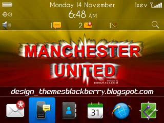 themes blackberry manchester united manchester united blackberry curve themes gsm blog