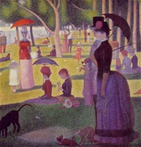 george seurat sunday afternoon up www pixshark