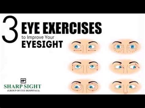 3 easy eye exercises to improve vision naturally sharp