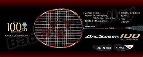Raket Yonex Arcsaber 100 Limited Edition v盻 t yonex arcsaber 100ltd limited 苣 225 nh gi 225 nh蘯ュn x 233 t