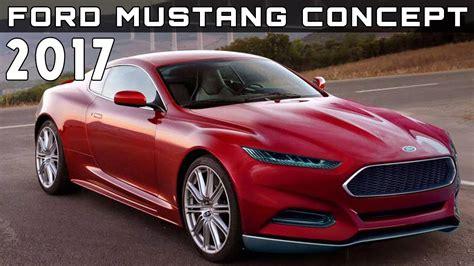 ford mustang 2016 concept 2017 ford mustang concept review rendered price specs