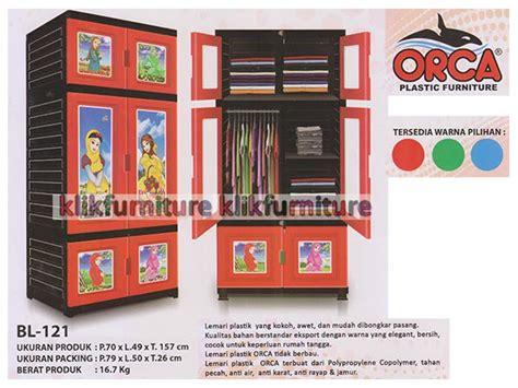 Lemari Plastik Merk Orca harga lemari plastik la 121 orca container plastik model