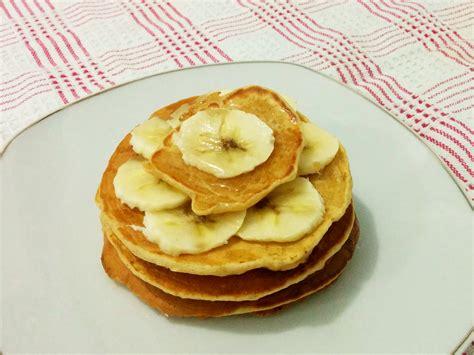resep membuat pancake dari oatmeal resep super simple pancake oatmeal pisang ngebikin com